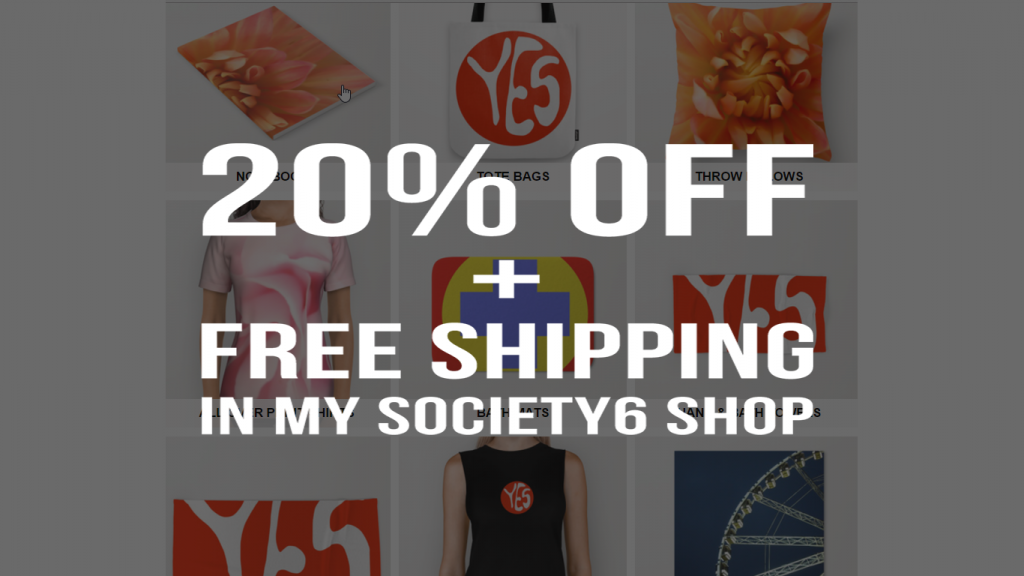 Society 6 - 20% Off + Free Shipping on Everything